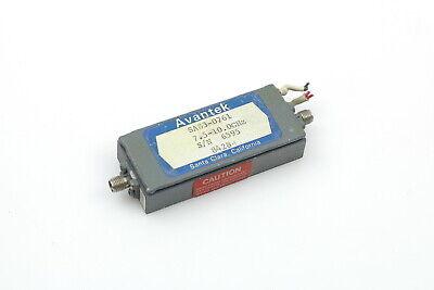 Avantek Sa83-0761 7.5-10.0ghz Amplifier