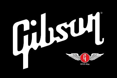 Gibson Guitars Vinyl Banner Flag Sign Retail Store Indoor Outdoor Signage 36x24