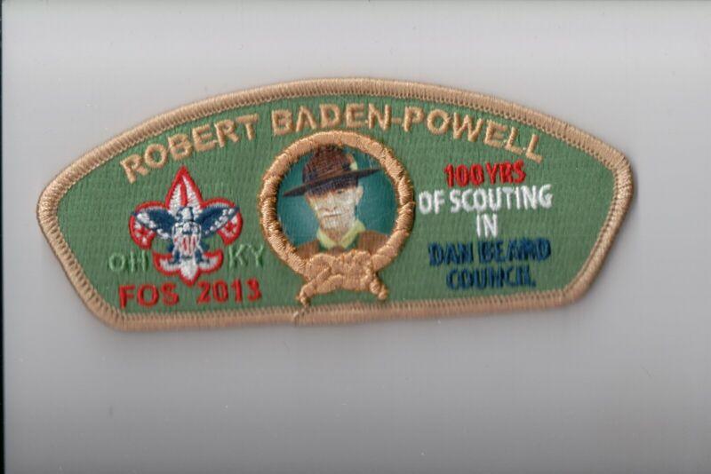 Dan Beard Council SA-51 2013 Friends Of Scouting FOS CSP (Robert Baden-Powell)