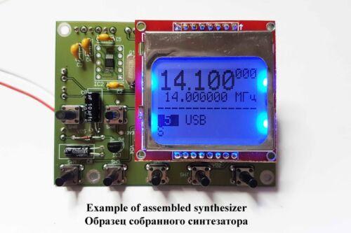 DDS VFO Synthesizer 1..30 MHz, 9 bands + decoder for HF Transceiver. Assembled.