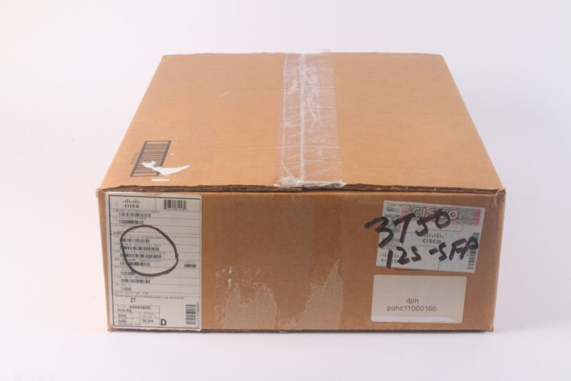Cisco Catalyst 3750g Gigabit Ethernet Switch 12-port Sfp Ws-c3750g-12s-s