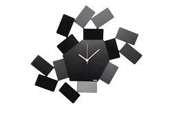 Alessi - MT19 B La Stanza dello Scirocco Wall Clock Black