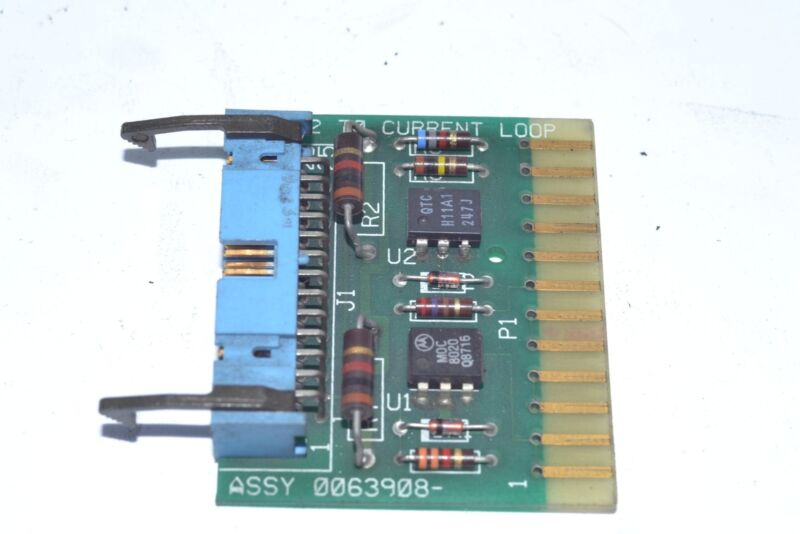 PCB RS-232 To Current Loop ASSY 0063908-1
