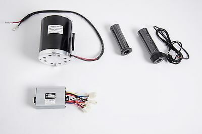 1000 W 48v Dc 1020 Electric Motor Kit W Base Control Box Throttle F Scooter