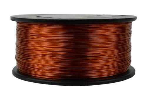 TEMCo Magnet Wire 22 AWG Gauge Enameled Copper 200C 1.5lb 751ft Coil Winding