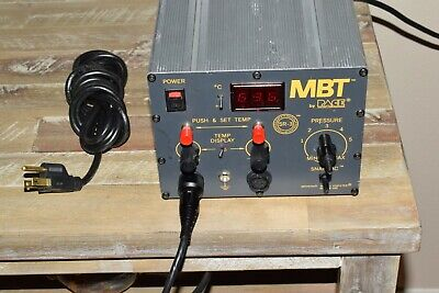 Nicetested Pace Mbt-210 Soldering Desoldering Station W Power Cord All Feet