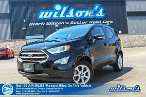 2018 Ford EcoSport SE 4WD Navigation, Sunroof, Power Seat, Heate
