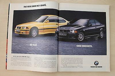 BMW M3 E36 Coupe - Anzeige/Werbung