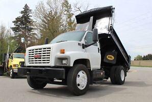 2005 Chev. SILVERADO C 7500 Dump Truck, 7.2 L Caterpillar Diesel