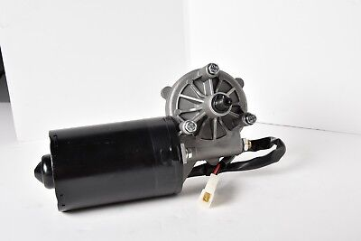 12v 100w Dc Wiper Left Side Reversible Electric Worm Motor 35 50 Rpm High Torque