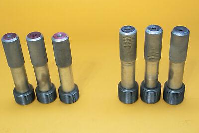 Npt Pipe Thread Go Nogo Plug Gage 1 - 11.5 Or 11-12 Set