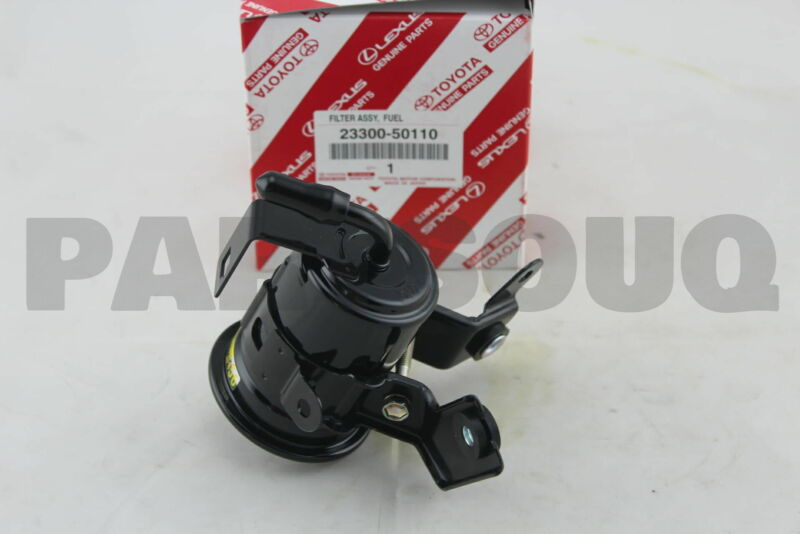 2330050110 Genuine Toyota Filter, Fuel(for Efi) 23300-50110