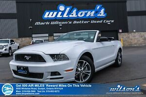 2014 Ford Mustang V6 Premium Convertible -  A/C, Keyless Entry,