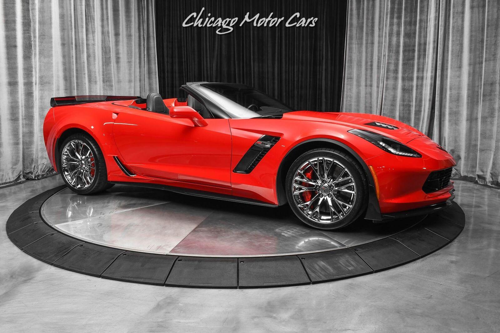 2015 Red Chevrolet Corvette Z06 2LZ | C7 Corvette Photo 6