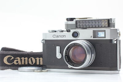 FedEx [Body Near Mint] Canon P Camera Body + Lens 50mm f/1.8 + Meter from JAPAN