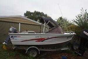 2001 Quintrex getaway 420 30 hp yamaha outboard