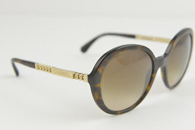 cd9c8c8fded88 Chanel women s sunglasses 5353 c.714 S5 56-20 140 3N Havana brown gradient  chain