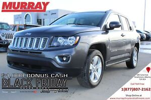 2016 Jeep Compass HIGH ALTITUDE *HEATED SEATS! SUNROOF! REMOTE S