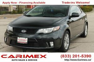 2011 Kia Forte Koup 2.4L SX Luxury Sunroof | Leather | CERTIFIED