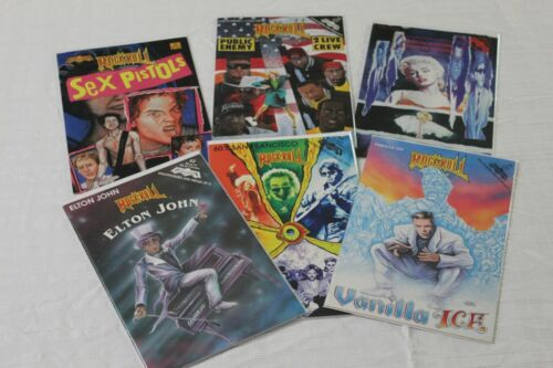 ROCK N ROLL COMICS Lot of 6 - Excellent Condition !!!