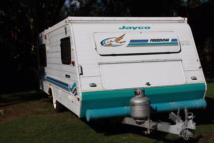JAYCO Freedom Pop Top 17' with Many extras Southport Gold Coast City Preview