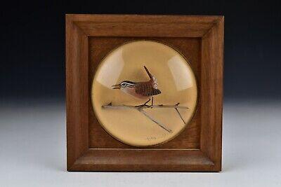 Artist Signed William Reinbold Framed Bird Carving Decoy