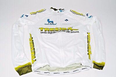 New 2017 Mens Craft Team Novo Nordisk Tresiba Pbc Ls Cycling Jersey  Small