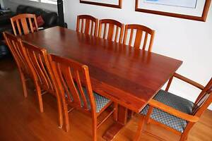 Oregan dining table with 8 chairs - priced for quick sale Woolooware Sutherland Area Preview