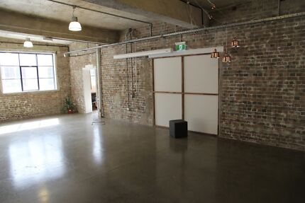 Event Space, Showroom, Fashion Launch, Pop up shop, Warehouse Chippendale Inner Sydney Preview