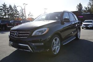 2015 Mercedes-Benz M-Class ML 350- LEATHER, SUNROOF, PUSH START!