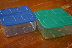 Tupperware Fridge Clear Mates - Square - Set of 2 Houghton Adelaide Hills Preview