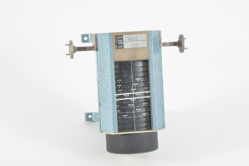 Alpha / TRG W551 Direct Reading Waveguide Frequency Meter WR-22, 33-50 GHz