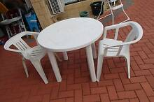plastic outdoor dining furnitures - all for $10 Riverton Canning Area Preview