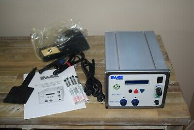 Pace Mbt301 Two Channel Solder Desolder Station W Td100 Tips Stand New Lcd