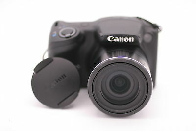 Canon PowerShot SX410 IS 20.0MP Digital Camera - Black