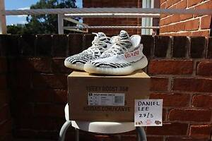 ZEBRA YEEZY US8 DS Strathfield Strathfield Area Preview