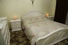 ITALIAN BEDROOM SUITE QB  +  BEDSIDE DRAWERS  + DRESSINGTABLE Glenroy Moreland Area Preview