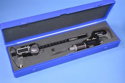 Fowler Caliper And Micrometer Set