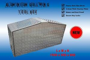 Aluminium Gullwing Tool Box Caravan Trailer Ute Forest Glen Maroochydore Area Preview
