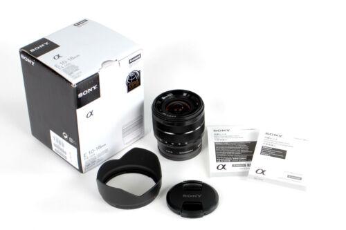 Sony 10-18mm f/4 OSS Alpha E-mount Wide-Angle Zoom Lens -