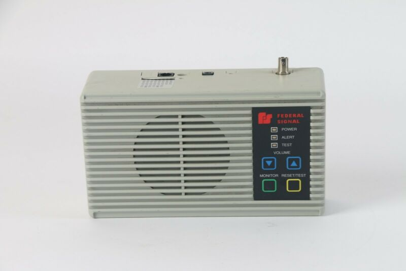 Federal Signal I-LIO Informer Series Emergency Tone Alert Receiver