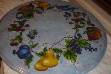 Lazy Susan  Designed withl lots of fruit delightfully highlighted
