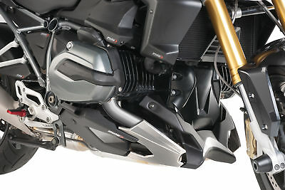 PUIG ENGINE SPOILER BLACK BELLY PAN COMPATIBLE FOR BMW R 1200 RS 2015 >