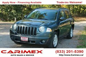2007 Jeep Compass Sport/North CERTIFIED