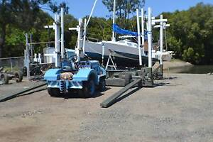 boat yard hardstand fiberglass repair Chermside Brisbane North East Preview
