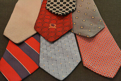 Lot of 7 TOMMY HILFIGER Ties / Neckties - incredibly cheap price ! Grab it ! G2