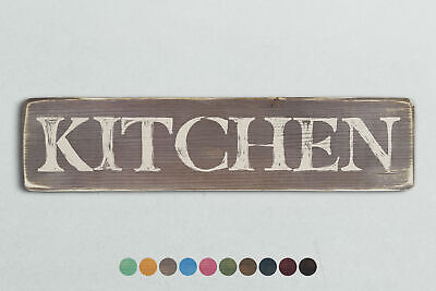 KITCHEN Vintage Style Wooden Sign. Shabby Chic Retro Home Gift