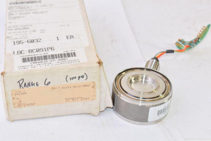 NEW Emerson Rosemount 01151-0112-0062, Range: 6 Sensor