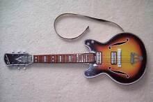 vintage metal toy guitar Armidale 2350 Armidale City Preview