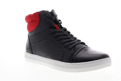 Unlisted by Kenneth Cole Drive Sneaker B Mens Black High Top Sneakers Shoes Driving Shoes High Top